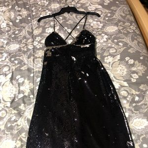Black sequin MILLY Dress